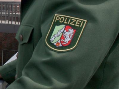 Ärmelabzeichen eines Polizisten in Nordrhein-Westfalen. (Symbolfoto)
