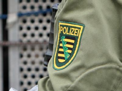 Polizei in Sachsen