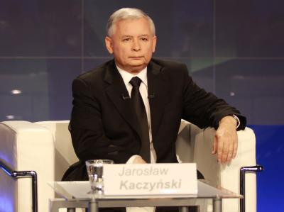Wandelte sich im Wahlkampf vom Saulus zum Paulus: Jaroslaw Kaczynski, Zwillingsbruder des verstorbenen Lech.