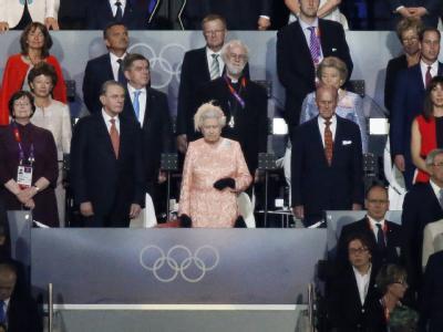 Die Queen hatte schon bei der Eröffnungsfeier die Hauptrolle inne. Foto: Dennis M. Sabangan