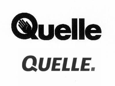 Das alte und das neue Quelle-Logo.