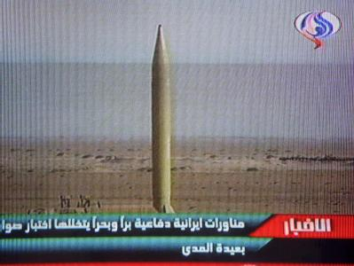 Raketentest im Iran