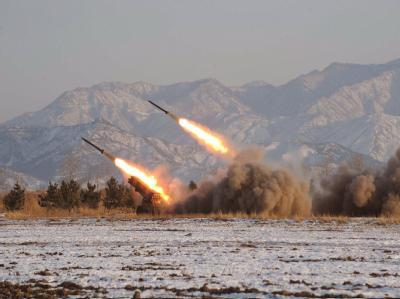 Bei den Angriffen durch Nordkorea (hier ein Archivbild) sind womöglich vier südkoreanische Soldaten verletzten worden.