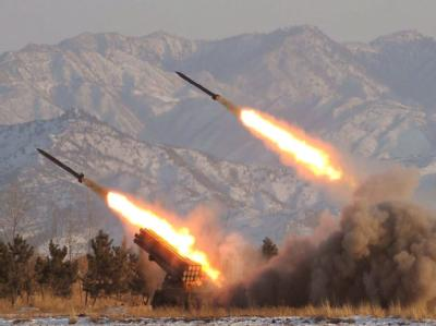 Bei der Rakete handelte es sich um ein russisches Modell vom Typ Grad, die in den Gazastreifen eingeschmuggelt worden ist (Symbolbild)
