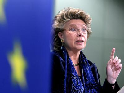 Seit elf Jahren ist die Kommissions-Vizepräsidentin Viviane Reding Mitglied der EU-Behörde (Archivbild).