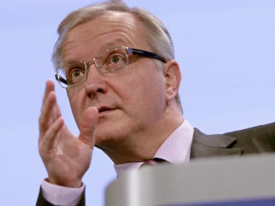 EU-Währungskommissar Olli Rehn.
