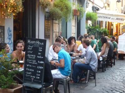 italienisches Restaurant in Rom (Symbolbild).