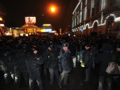 Proteste nach Russlandwahl