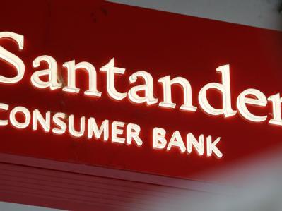 Eine Filiale der Santander Bank. (Archiv- und Symbolbild)
