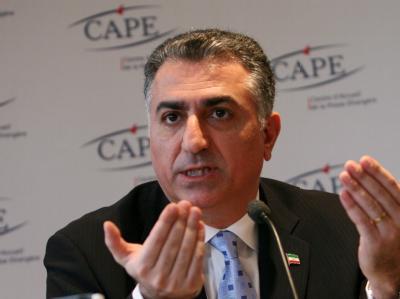 Der Sohn des Schahs von Persien: Reza Pahlavi will eines Tages in seine Heimat zurückkehren.