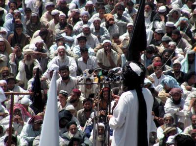 Muslimische Extremisten feiern