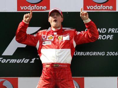 Schumacher jubelt