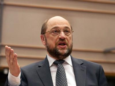 SPD-Vorstandsmitglied Martin Schulz (Archivbild).