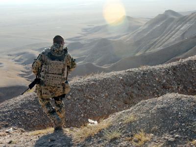 Nato-Generalsekretär Rasmussen: «Wir erwarten, dass die letzten Provinzen Mitte 2013 an die afghanischen Sicherheitskräfte übergeben werden». Foto: ISAF / Archiv