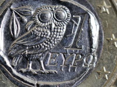 Euro-Münze aus Griechenland