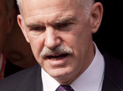 Giorgos Papandreou will nun doch die Hilfe der EU und des IWF in Anspruch nehmen (Archivbild).