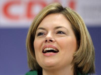 Julia Klöckner, Agrarstaatssekretärin in Berlin und rheinland-pfälzische CDU-Bundestagsabgeordnete, soll nach Medieninformationen Kurt Beck bei der Landtagswahl 2011 herausfordern.