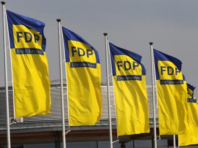 Die Krise der FDP hält an; auch der Führungswechsel von Westerwelle zu Rösler hat daran nichts geändert. Foto: Bernd Wüstneck