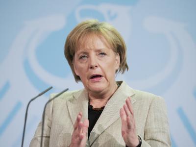 Bundeskanzlerin Merkel dringt auf eine Verschärfung des europäischen Stabilitäts- und Wachstumspaktes.