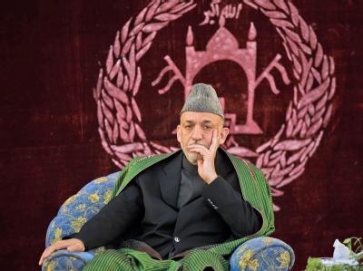 Der afghanische Präsident Hamid Karsai hat eingeräumt, dass seine Regierung finanziell aus Iran unterstützt wird.
