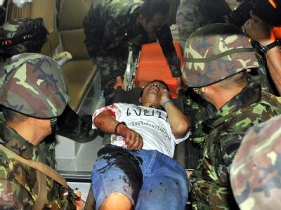 Verletzter nach Bombenexplosion