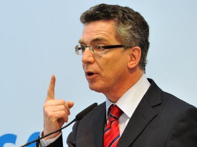 Bundesinnenminister Thomas de Maizière. (Archivbild)