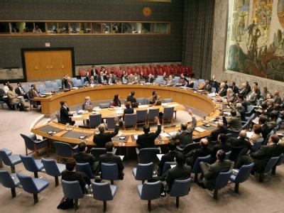 Sitzung des UN-Sicherheitsrats in New York (Archivbild).