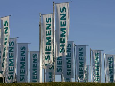 Siemens-Flaggen