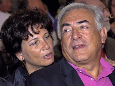 Ehepaar Strauss-Kahn