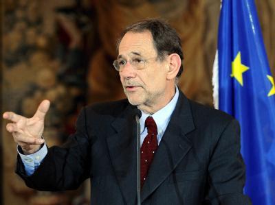 EU-Chefdiplomat Javier Solana hofft auf eine Lösung im Atomstreit.