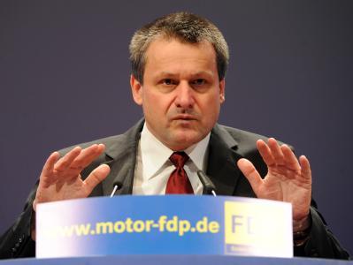 Der baden-württembergische FDP-Landtagsfraktionsvorsitzende Hans-Ulrich Rülke.