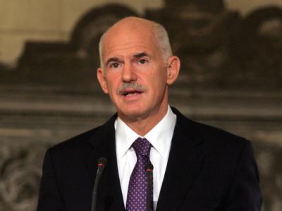Ministerpräsident Giorgos Papandreou.