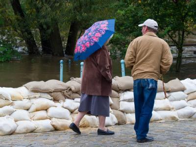 Hochwasser in Spremberg