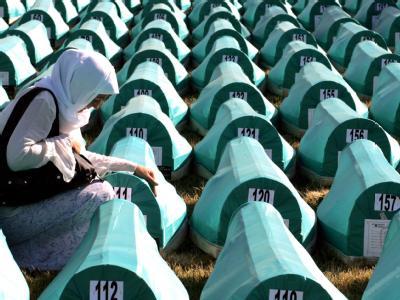 Potocari-Gedenkstätte für Srebrenica-Opfer