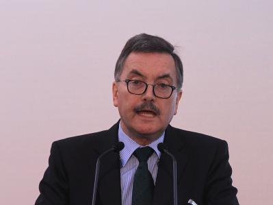 Wirft das Handtuch: Chefvolkswirt Jürgen Stark.