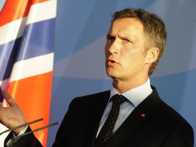 Der Ministerpräsident Norwegens, Jens Stoltenberg (Archivbild).