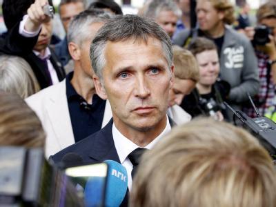 Lässt sich auch in diesen dunklen Momenten nicht von Rachegedanken leiten: Norwegens Ministerpräsident Jens Stoltenberg.