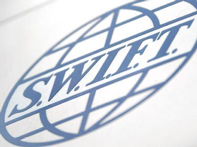 Emblem des Finanzdienstleisters Swift