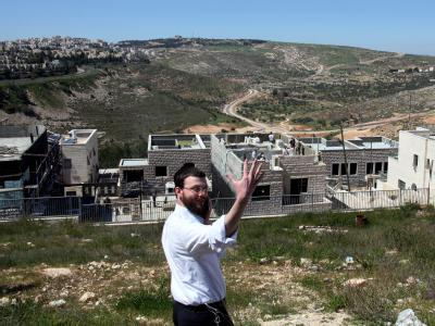 Siedlungsausbau in besetzten Gebieten