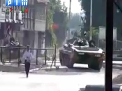 Syrischer Panzer