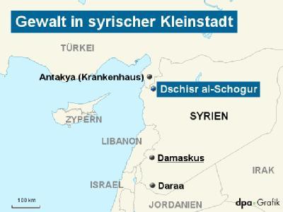 Gewalt in syrischer Kleinstadt
