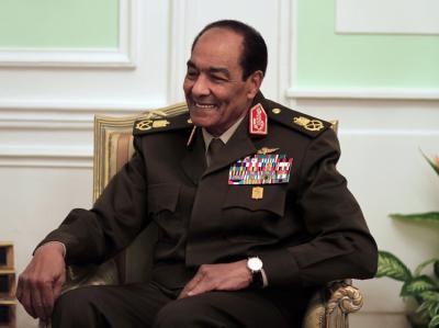 Der Vorsitzende des Obersten Militärrates, Mohammed Hussein Tantawi, will am 30. Juni die Macht an einen gewählten Präsidenten übergeben. Foto: Khalil Hamra