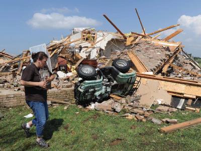 In Yazoo City im US-Bundesstaat Mississippi hat ein Tornado mindestens zehn Menschenleben gefordert.