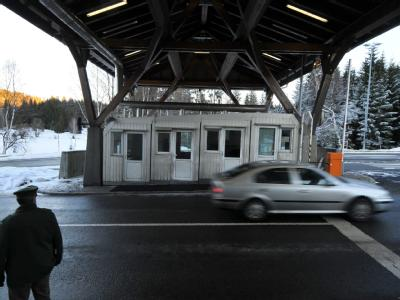 Tschechische Grenze