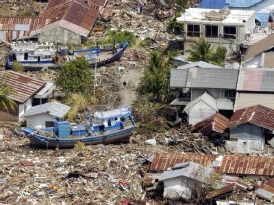 Verwüstetes Banda Aceh