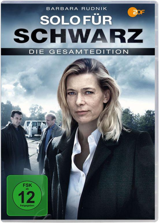 DVD-Gesamtedition der ZDF-Krimiserie Solo Für Schwarz