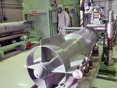 Russische Fabrik zur Vernichtung von Chemiewaffen. Foto: Grigory Sysoyev/Archiv