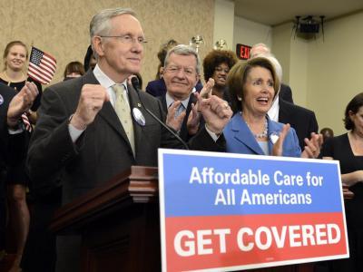 Harry Reid will sich auf kleinere Änderungen an der Gesundheitsreform einlassen, um die Krise beizulegen. Foto:Michael Reynolds/Archiv