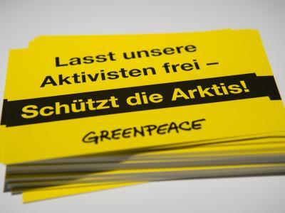 Den Greenpeace-Aktivisten wird «bandenmäßige Piraterie» vorgeworfen. Foto: Maja Hitij