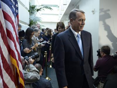 Ein Verlierer im US-Finanzstreit steht bereits fest: John Boehner, einst «starker Mann der Republikaner» im Repräsentantenhaus. Foto: Michael Reynolds
